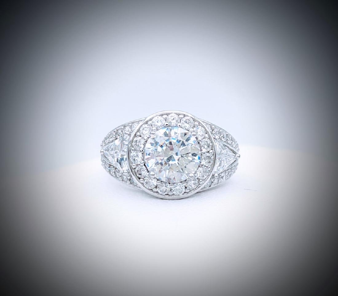 Sterling Silver CZ Dazzle Me Ring