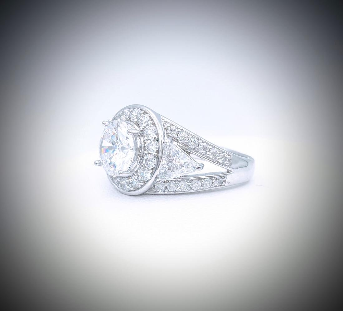 Sterling Silver CZ Dazzle Me Ring - 3