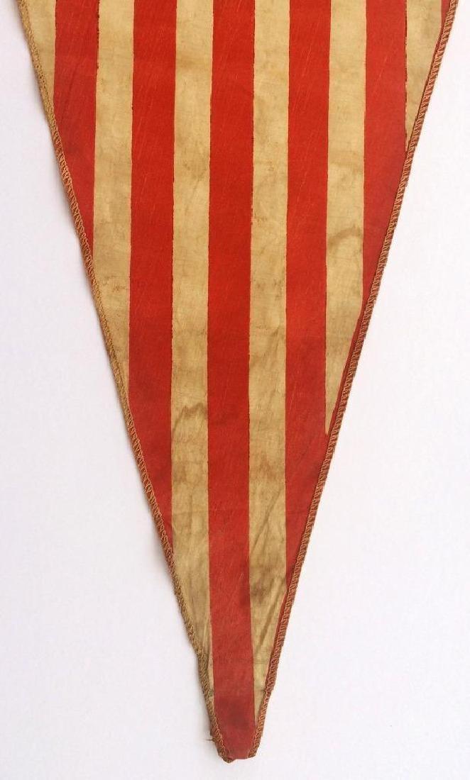 WWI US Army American Flag Pennant American Eagle - 3