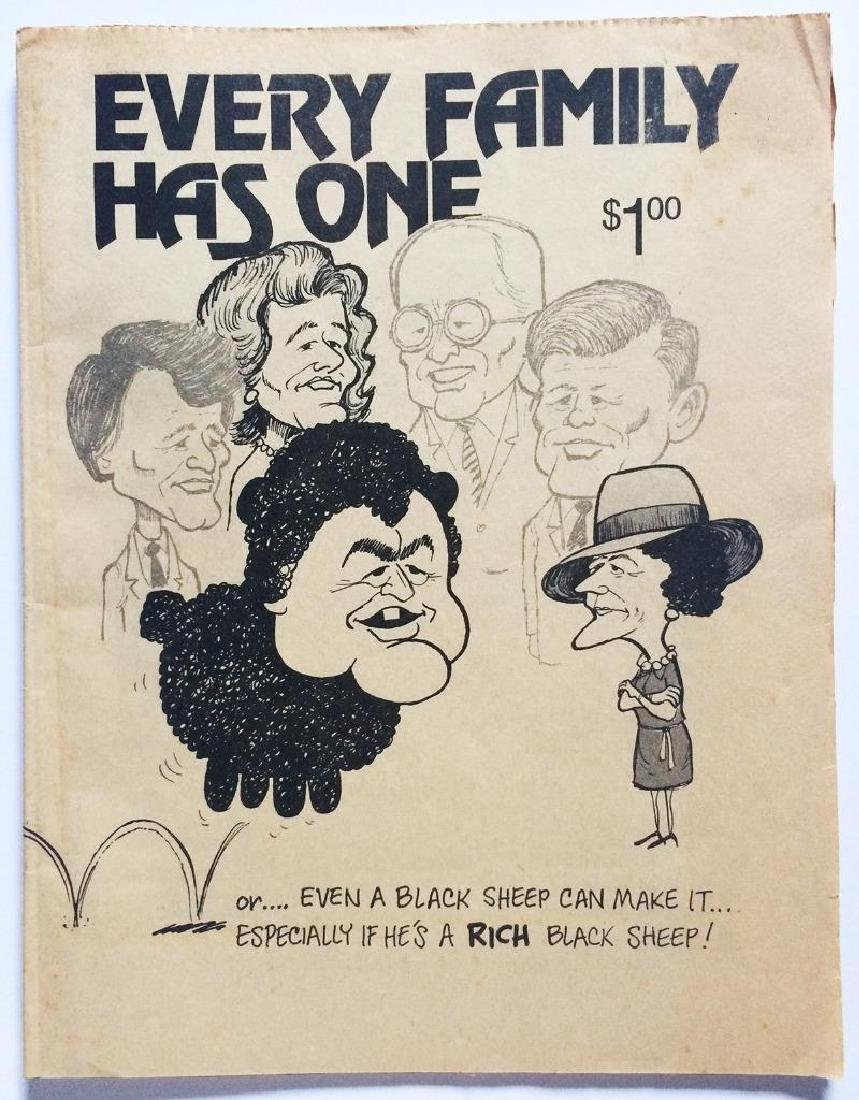 1982 Anti Ted Kennedy Cartoon Booklet Citizens