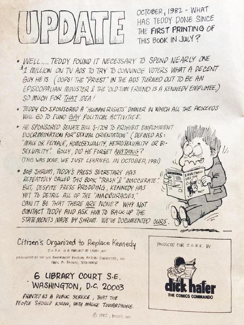 1982 Anti Ted Kennedy Cartoon Booklet Citizens - 4