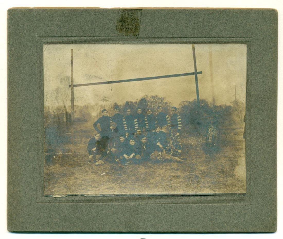 Lot of 3 Early Football Team Photos C 1910 Northwestern - 2