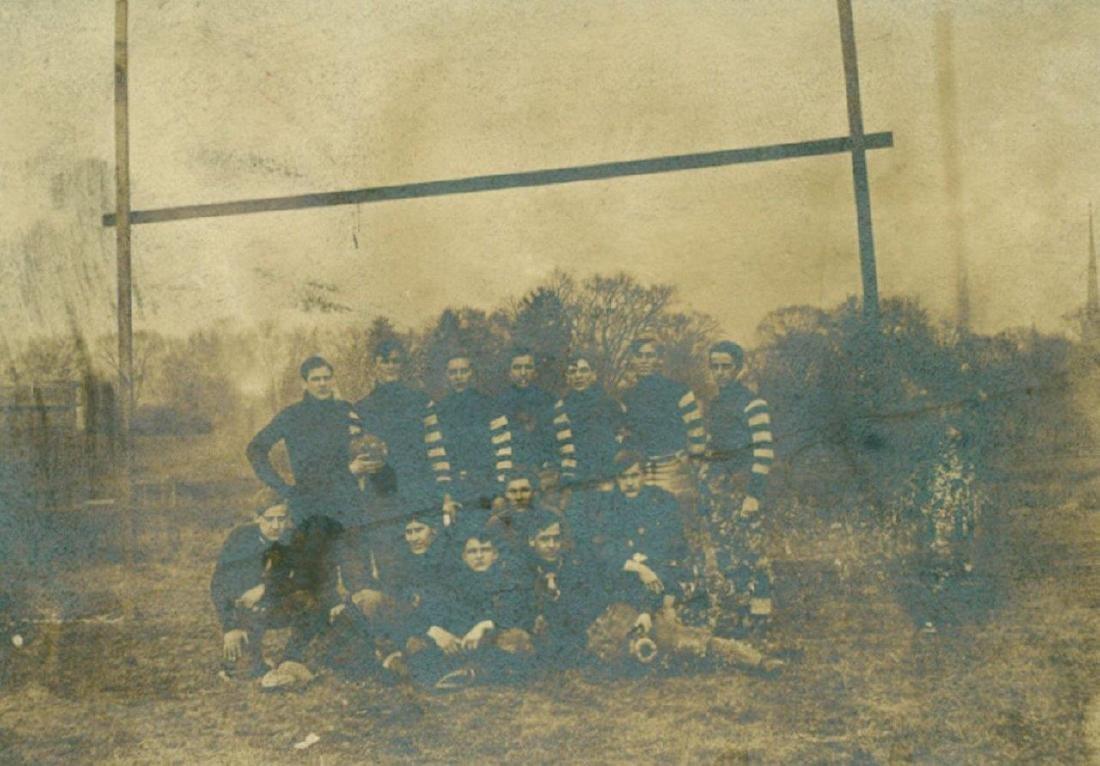 Lot of 3 Early Football Team Photos C 1910 Northwestern - 3
