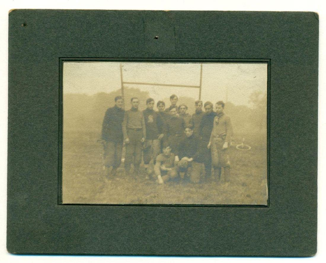 Lot of 3 Early Football Team Photos C 1910 Northwestern - 4