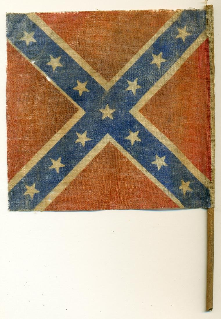 Confederate Parade Flag - 2