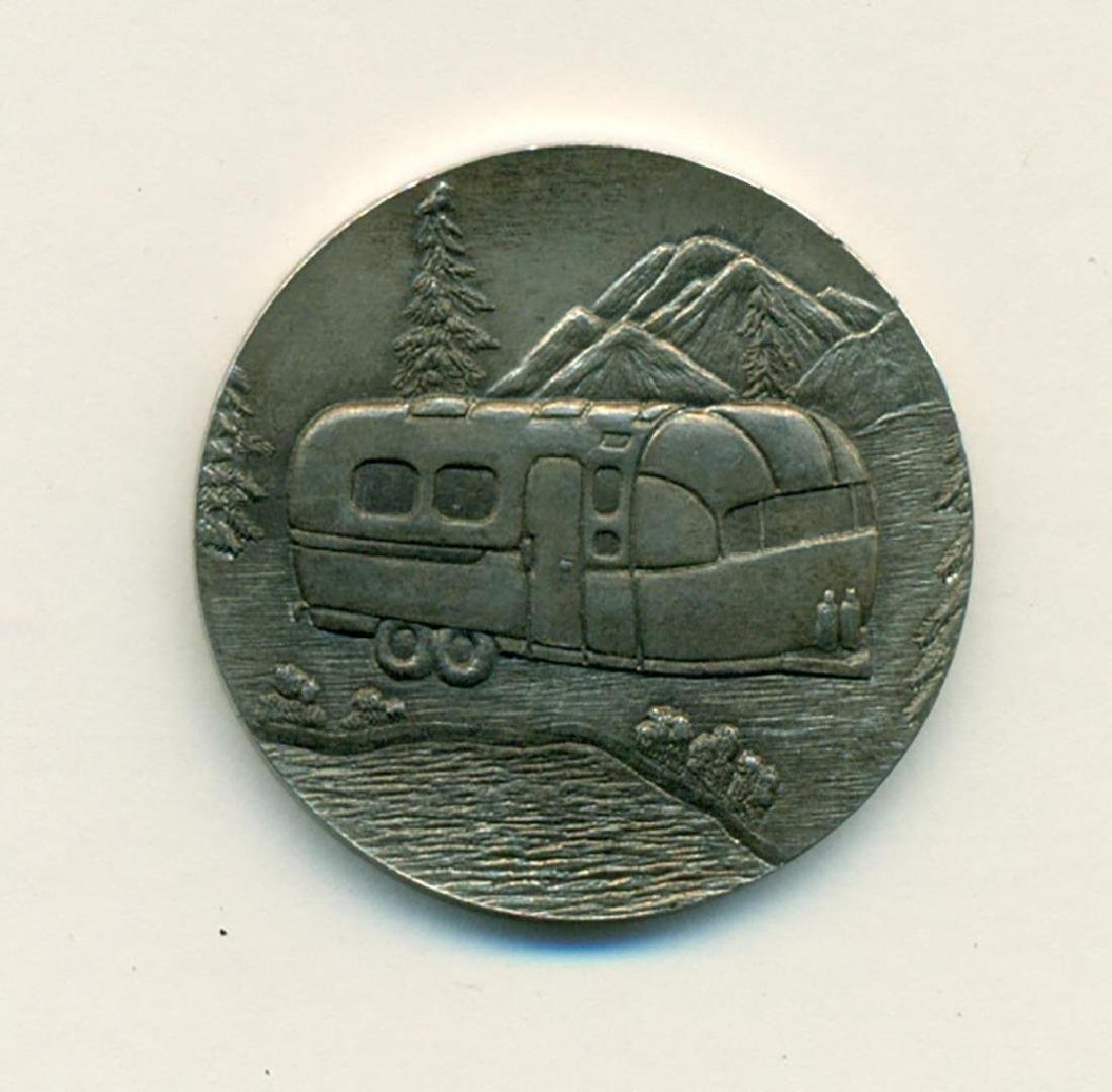 1970 WBCCI Airstream Travel Trailer Token 13th Rally