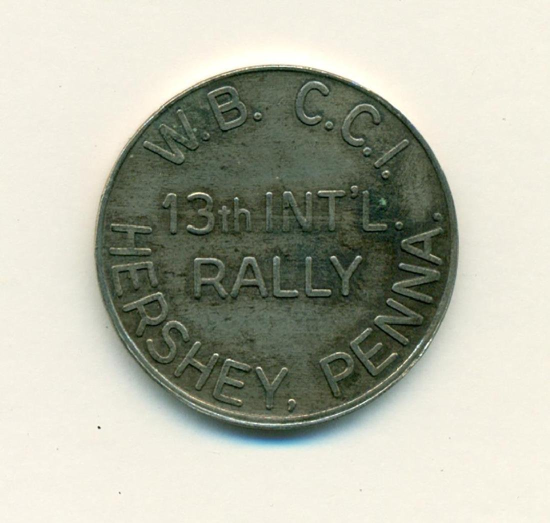 1970 WBCCI Airstream Travel Trailer Token 13th Rally - 2