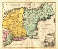 Nova Anglia'.New England Novum Belgium.Long Island