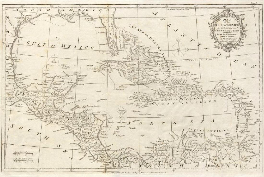 GULF OF MEXICO Caribbean West Indies Bahamas. Spanish