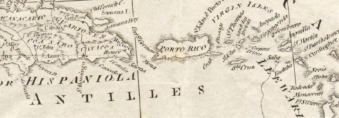GULF OF MEXICO Caribbean West Indies Bahamas. Spanish - 2