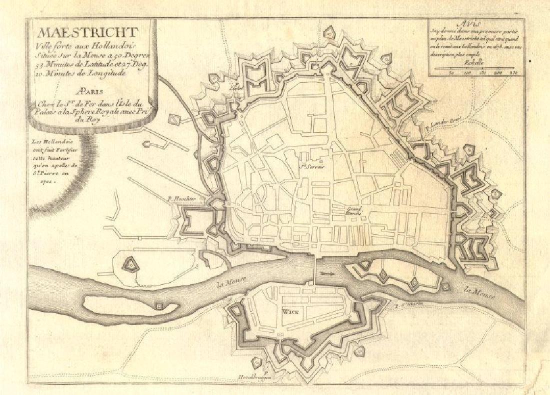 de Fer: Maestricht, ville forte aux Hollandois'.