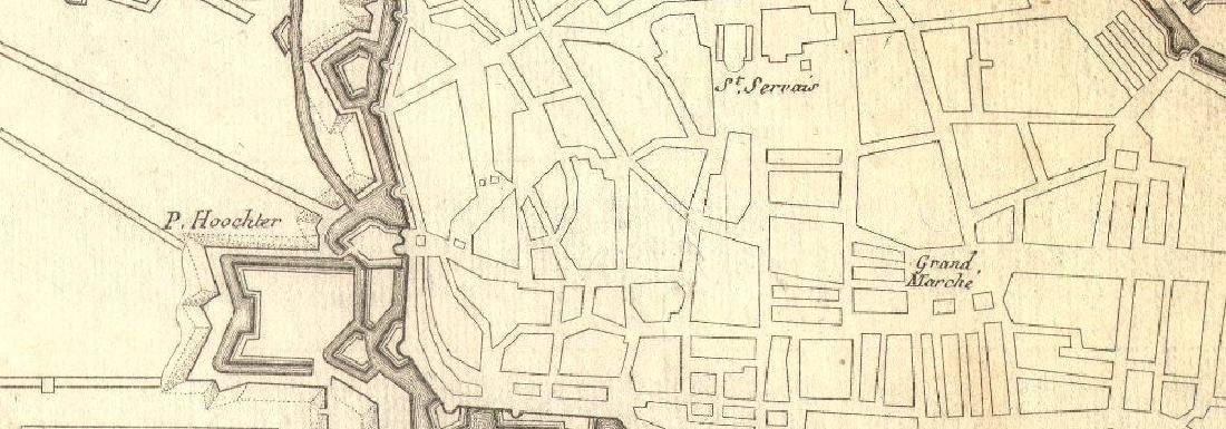 de Fer: Maestricht, ville forte aux Hollandois'. - 2