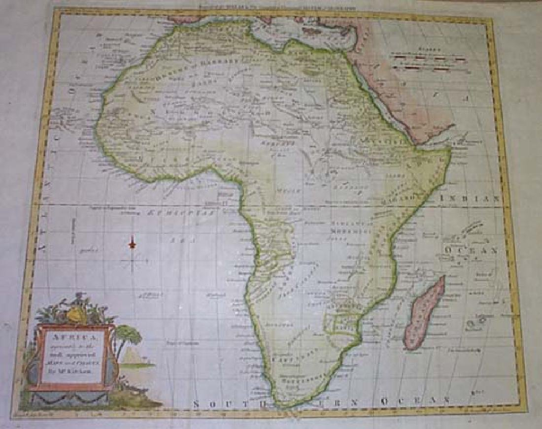 Africa, Agreeable to the Most Approved Maps and Charts, - 2