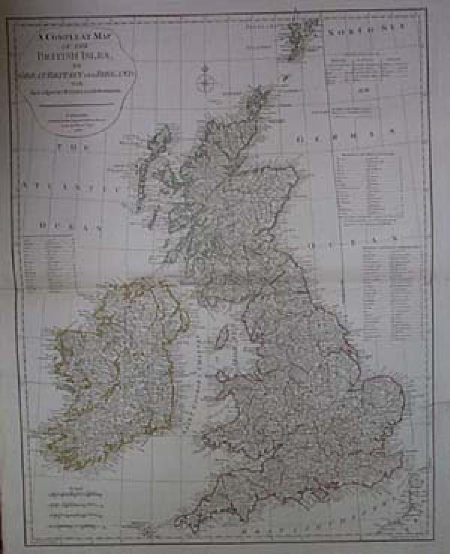 A Compleat Map of the British Isles, Or Great Britain - 2