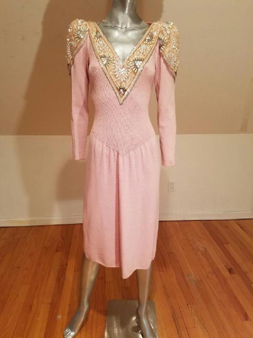 Vtg 1970 Pat Sandler for Wellmore santana knit