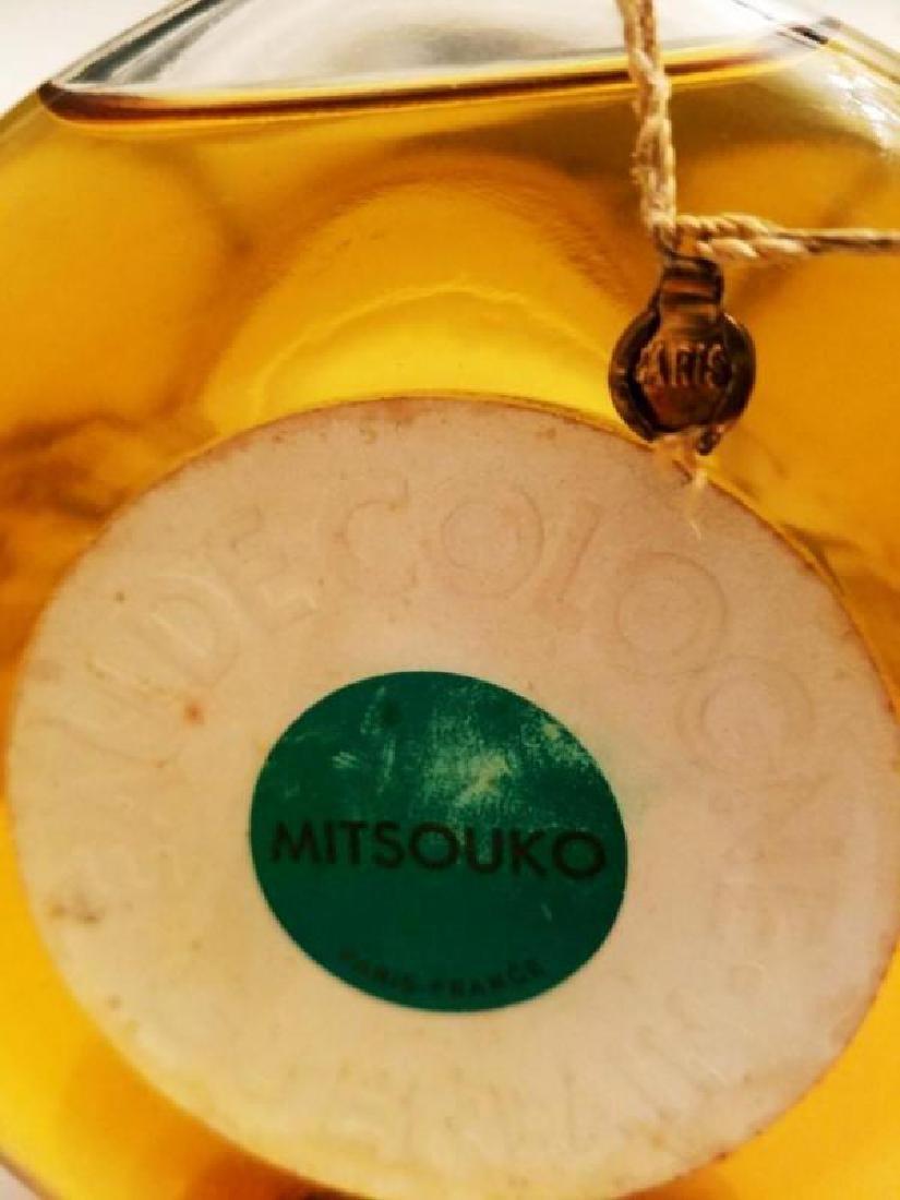 Vtg Mitsouko Rare Parfum Cologne Guerlain Paris 1968 - 3