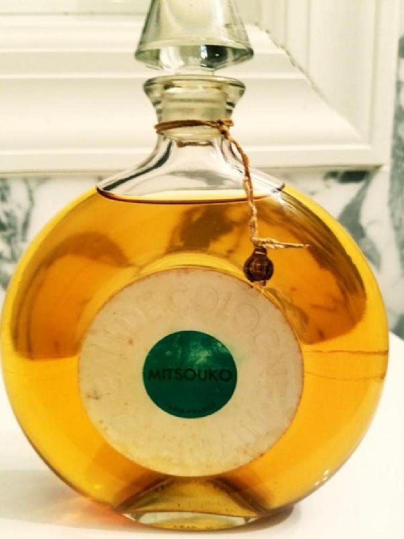 Vtg Mitsouko Rare Parfum Cologne Guerlain Paris 1968 - 5