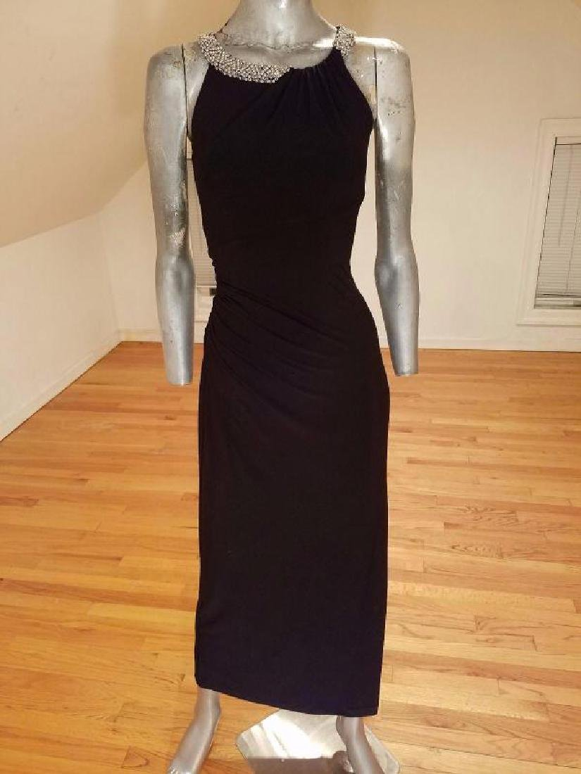 Ralph Lauren Collection grecian draped gown swarovski