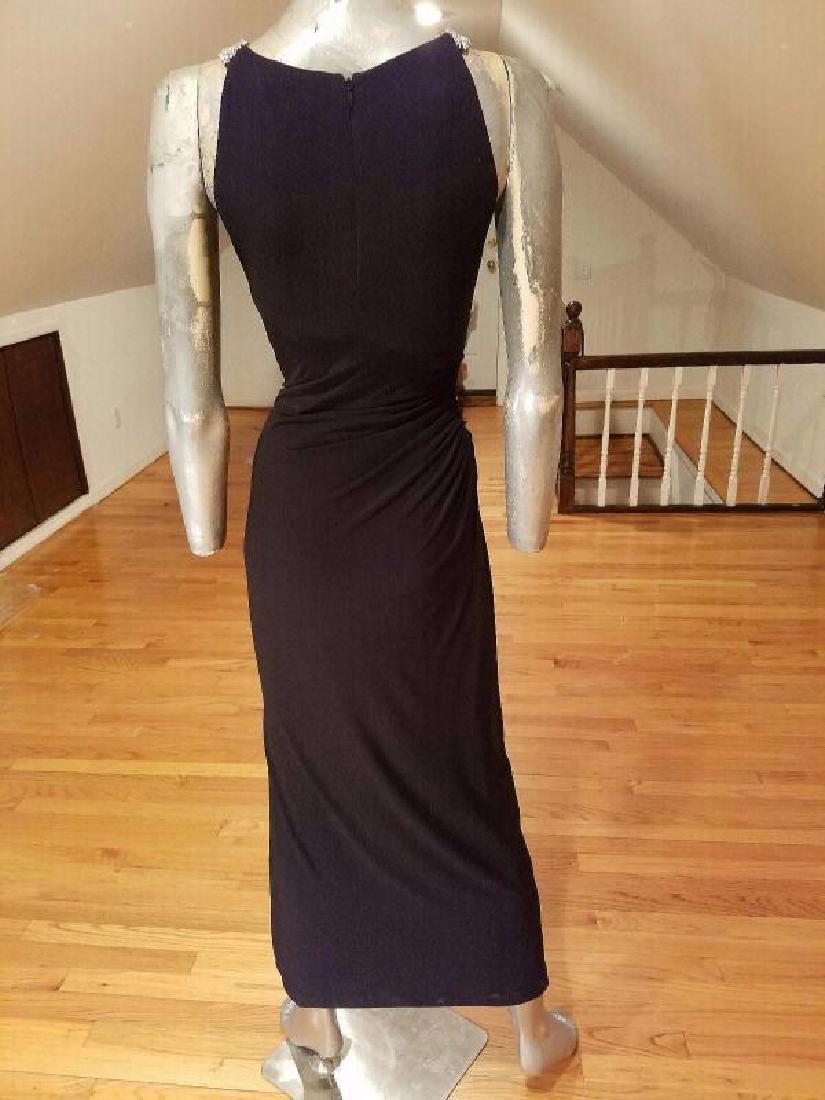 Ralph Lauren Collection grecian draped gown swarovski - 3