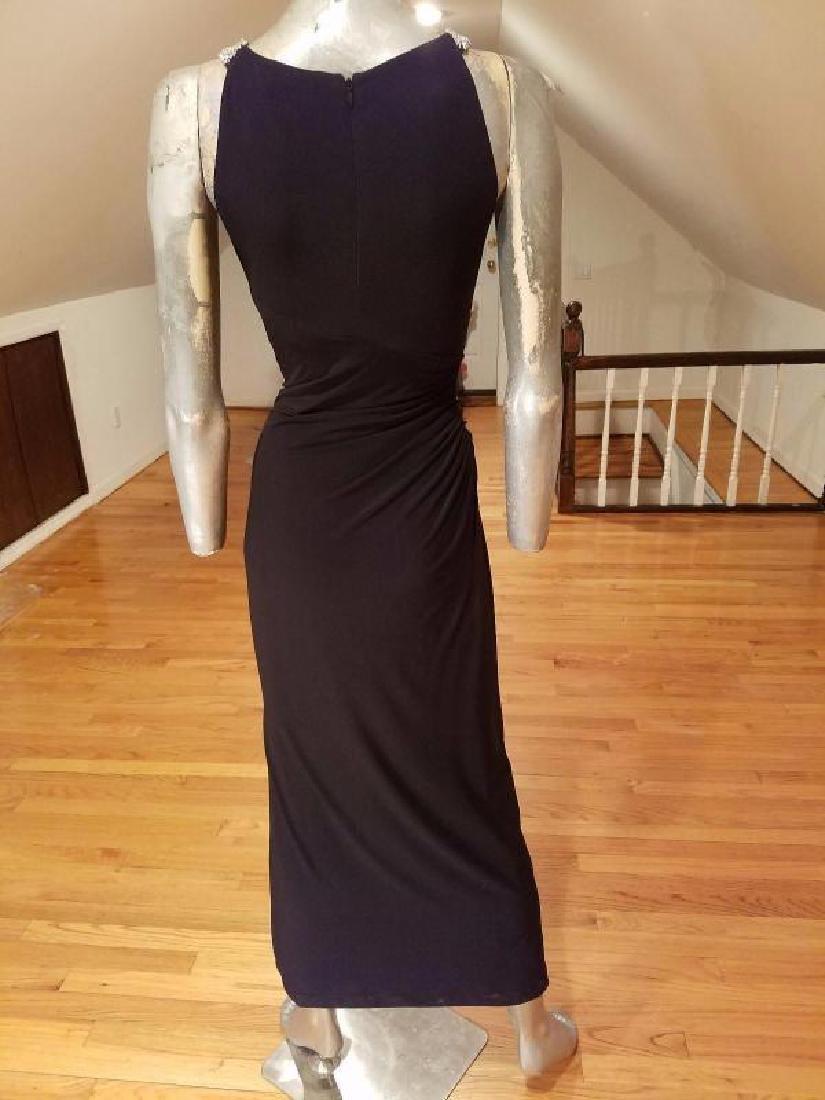 Ralph Lauren Collection grecian draped gown swarovski - 5