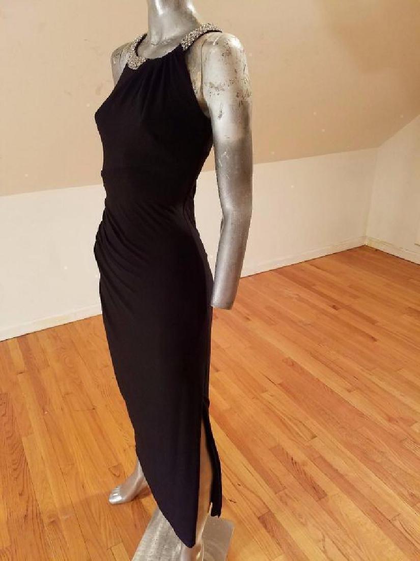 Ralph Lauren Collection grecian draped gown swarovski - 7
