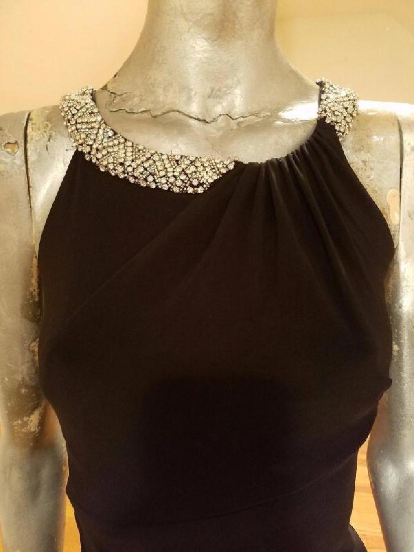 Ralph Lauren Collection grecian draped gown swarovski - 8