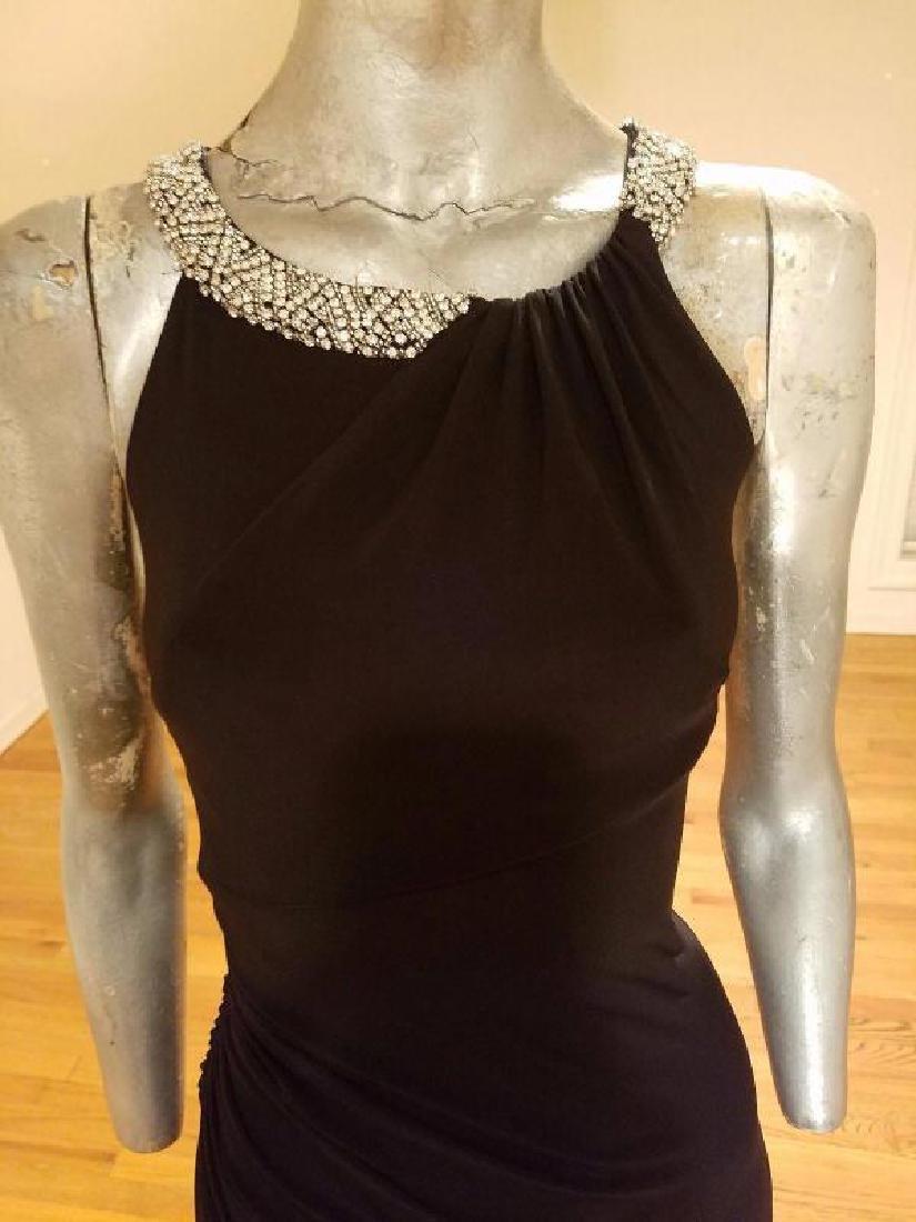 Ralph Lauren Collection grecian draped gown swarovski - 9