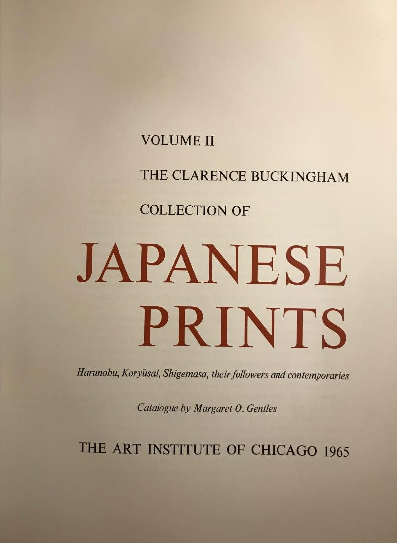 The Clarence Buckingham Collection of Japanese Prints. - 3