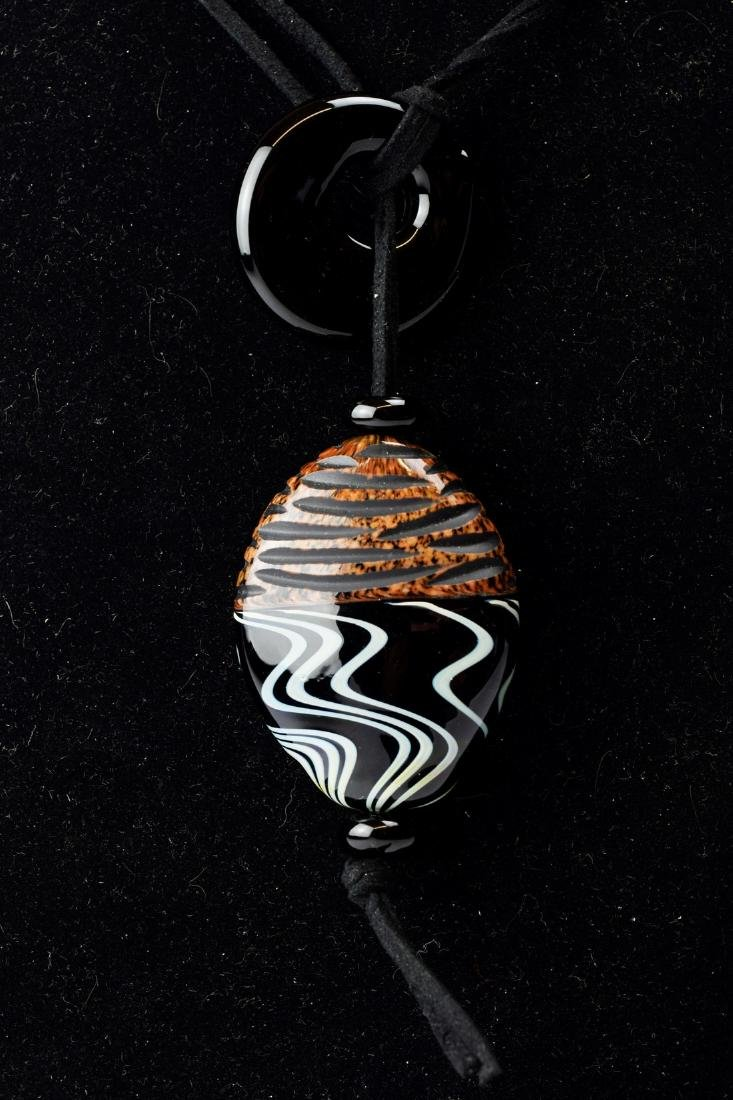 Wrought collector's pendant-Murano