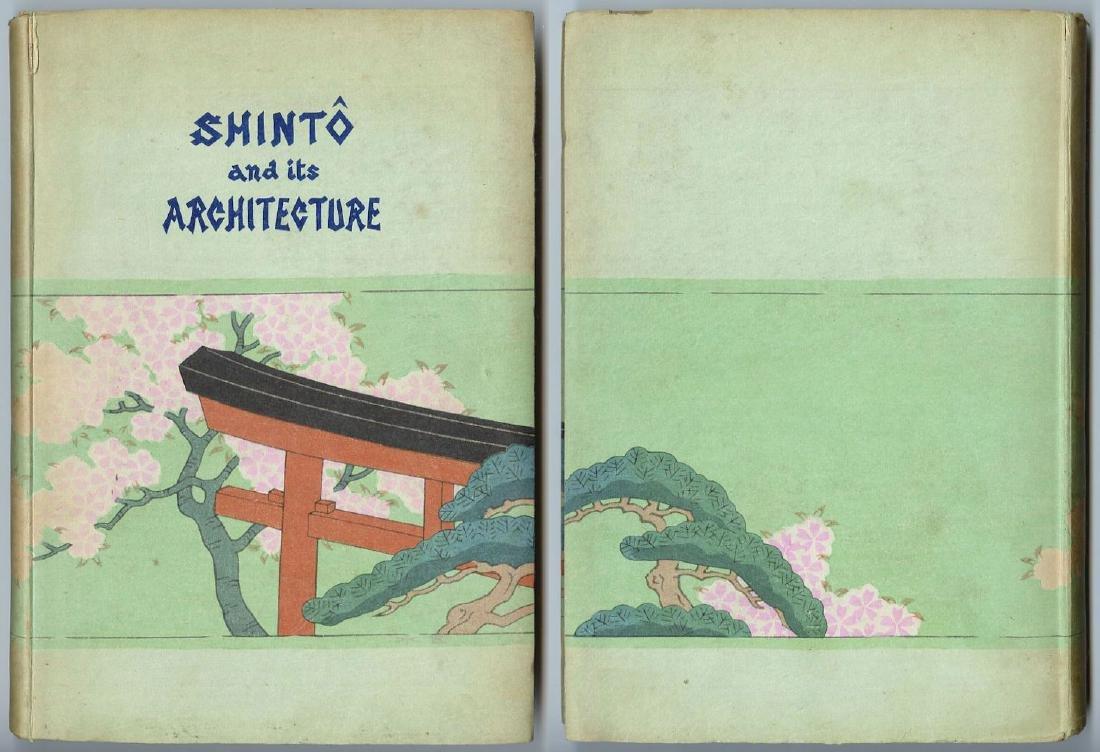 Hasui Kawase Woodblock Shinto and its Architecture
