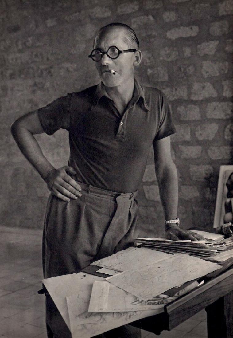 ROGI ANDRE - Portrait of Le Corbusier