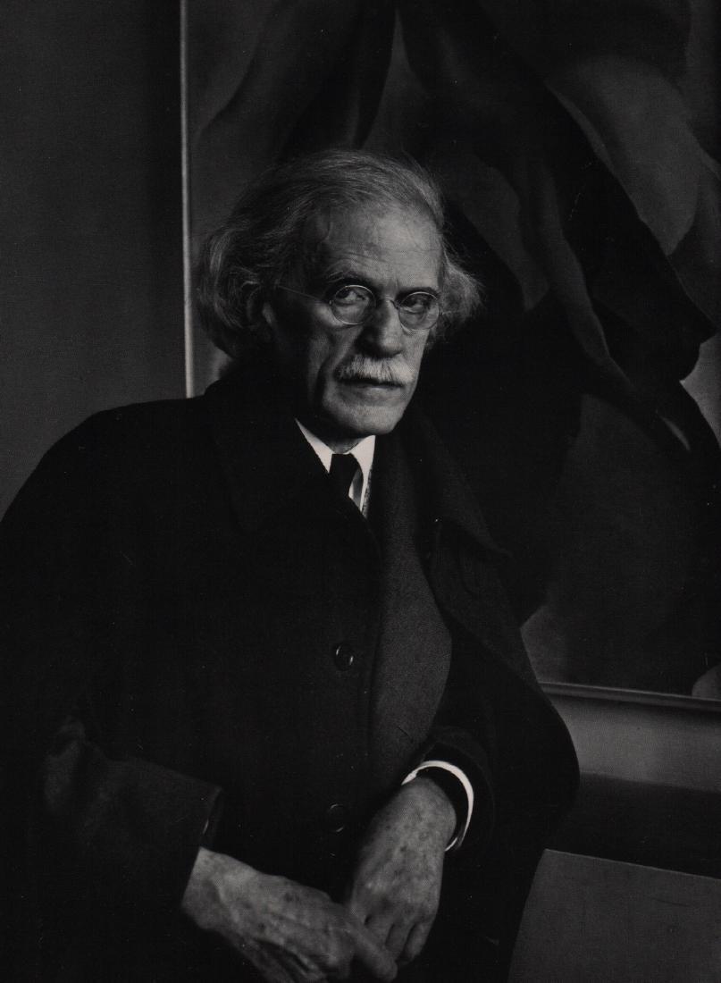 IMOGENE CUNNINGHAM  - Alfred Stieglitz