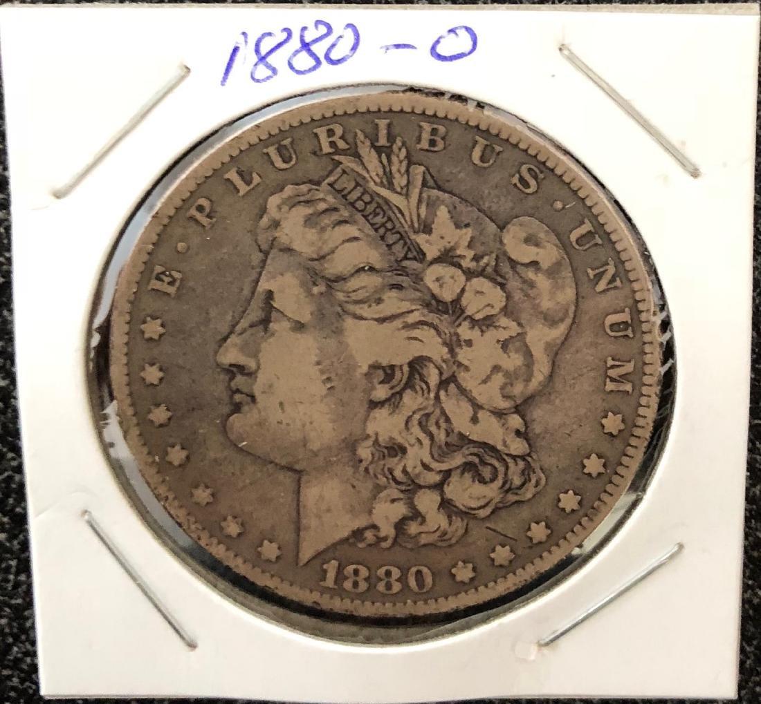 1880-O Morgan Silver Dollar