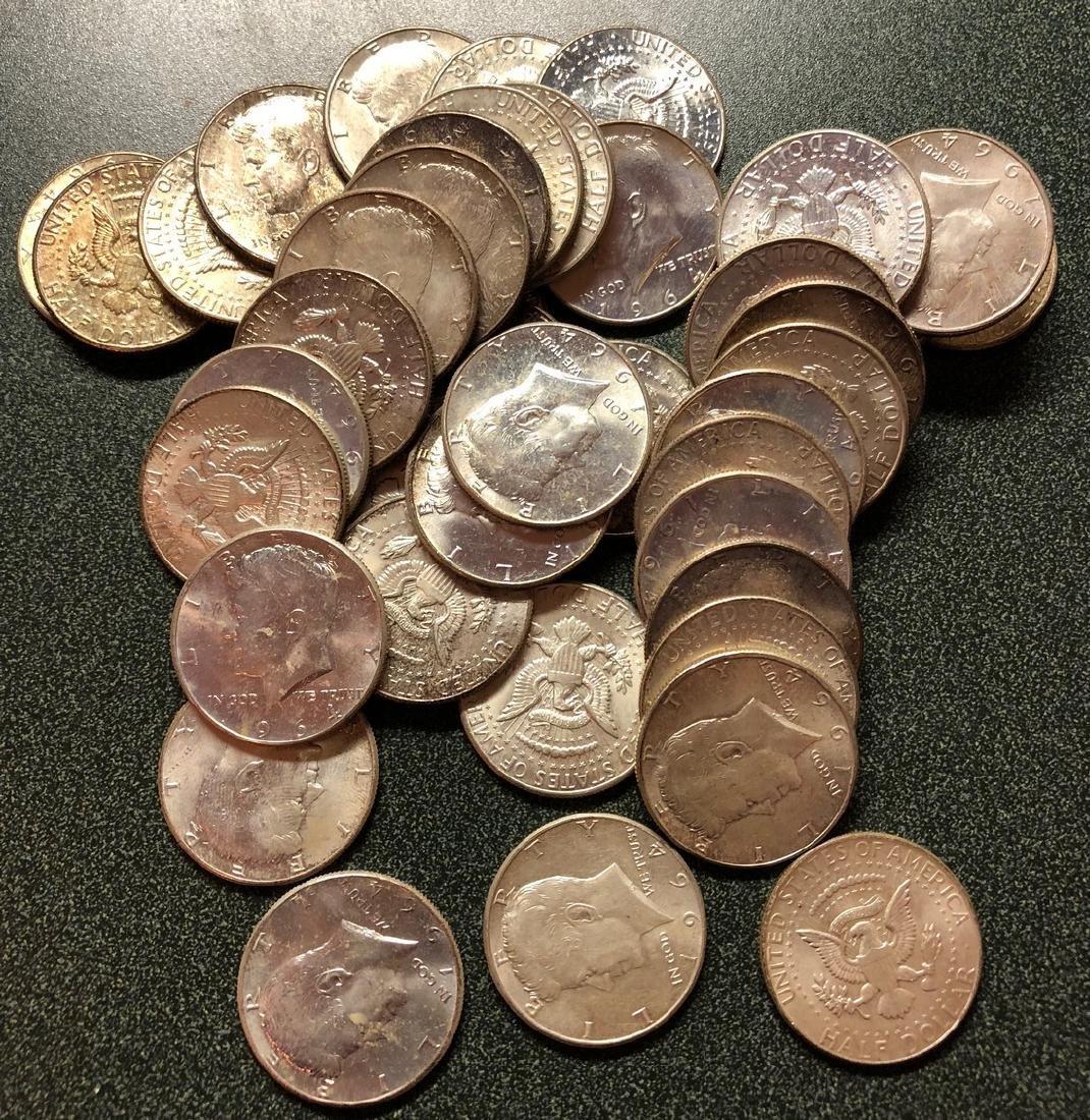 44-1964 Kennedy Half Dollars