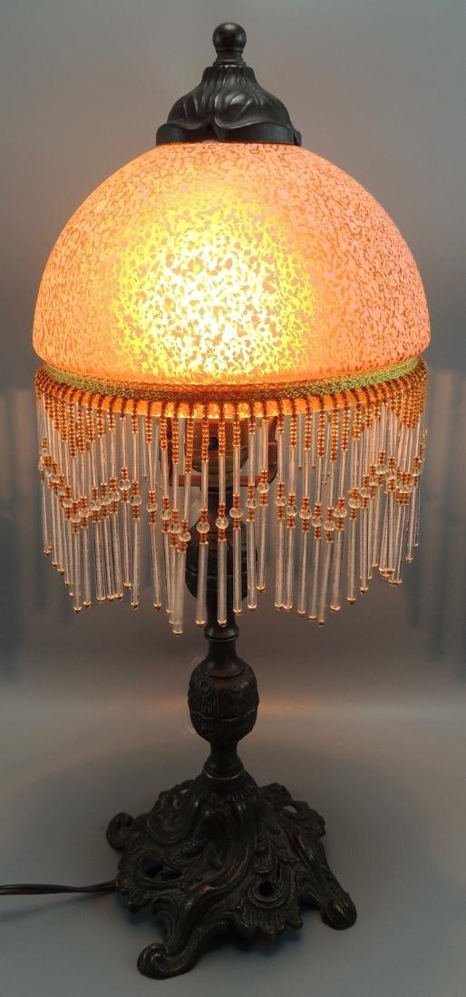 Art Deco/Art Nouveau Patinated Lamp