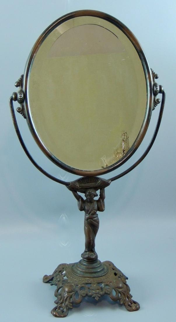 Art Deco Golden Mfg. Co. Vanity Mirror
