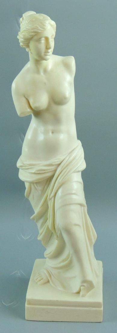 A. Santini Venus De Milo Nude Statue