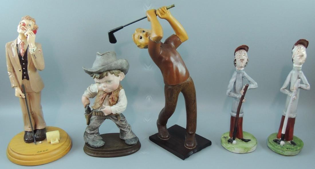 Italian Figurines Lot of 5