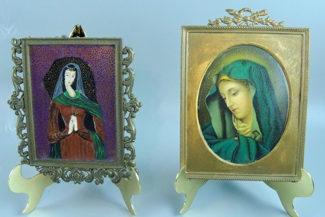 Religious Icons in Florentine Frame