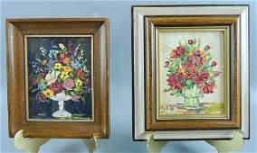 Oil Painting on Mini Boards, Still Life