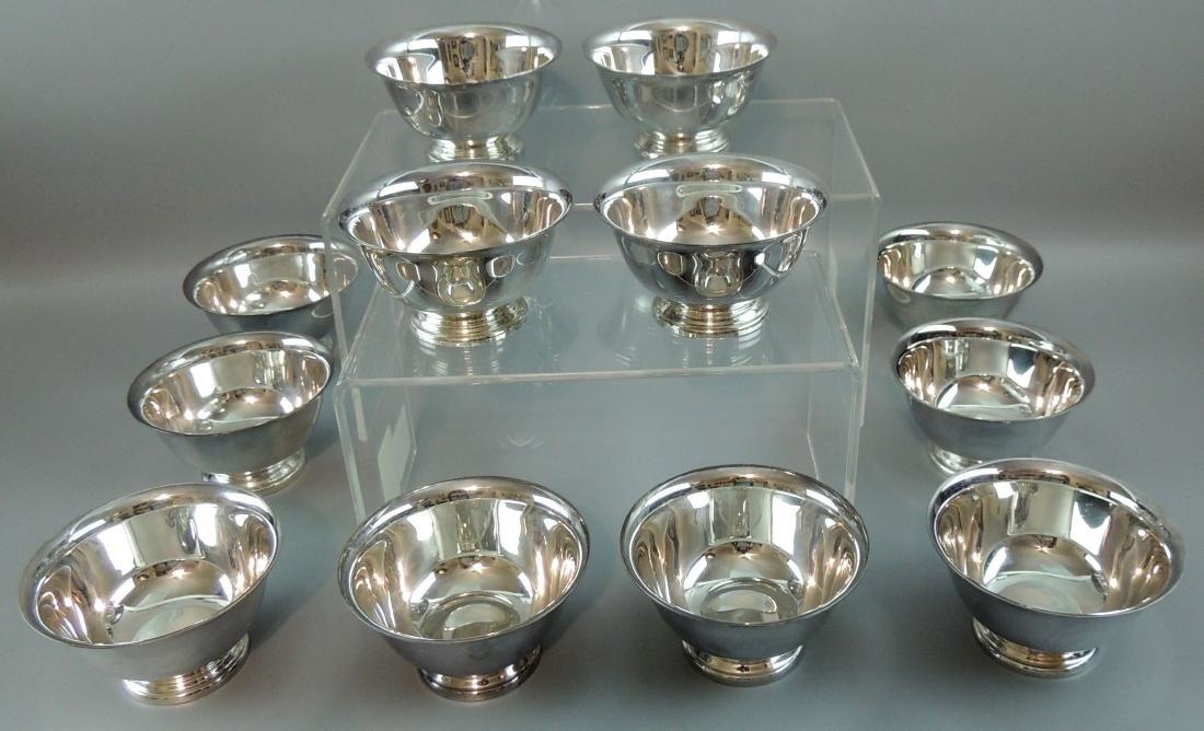 Reed & Barton Paul Revere Silverplate Bowls