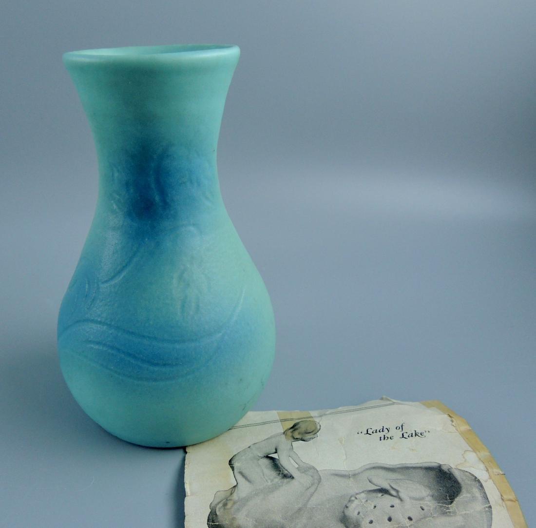 Van Briggle Ming Turquoise Blue, Fred Willis