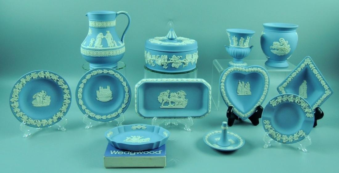 Wedgwood Jasperware Vanity, Vases & Plus