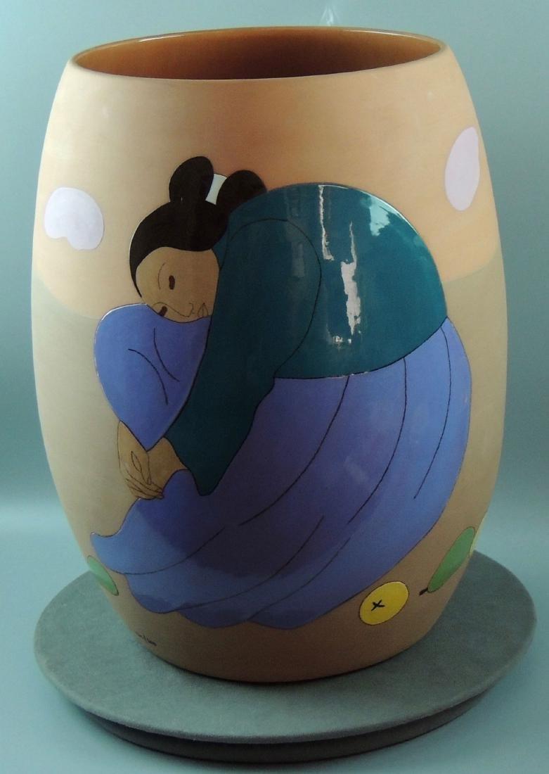 RC Gorman LTD Ed Signed Pottery Vase