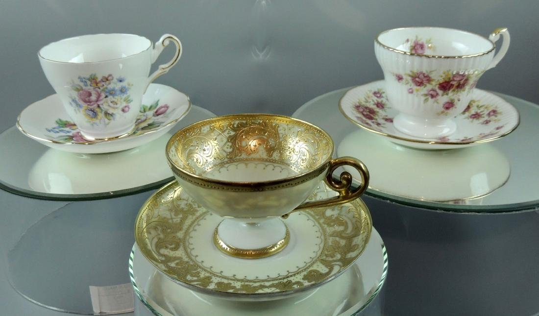 Nippon & English Cups & Saucers