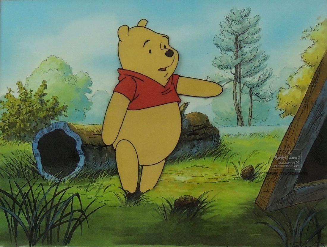 Original Production Cel, Winnie The Pooh