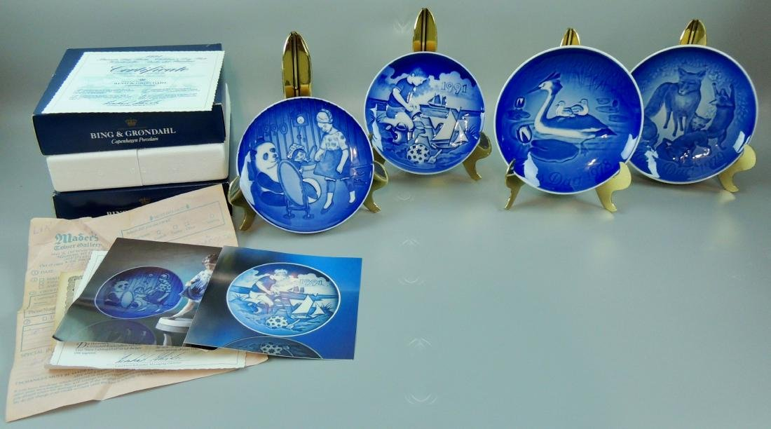 Bing & Grondahl Collector's Plates