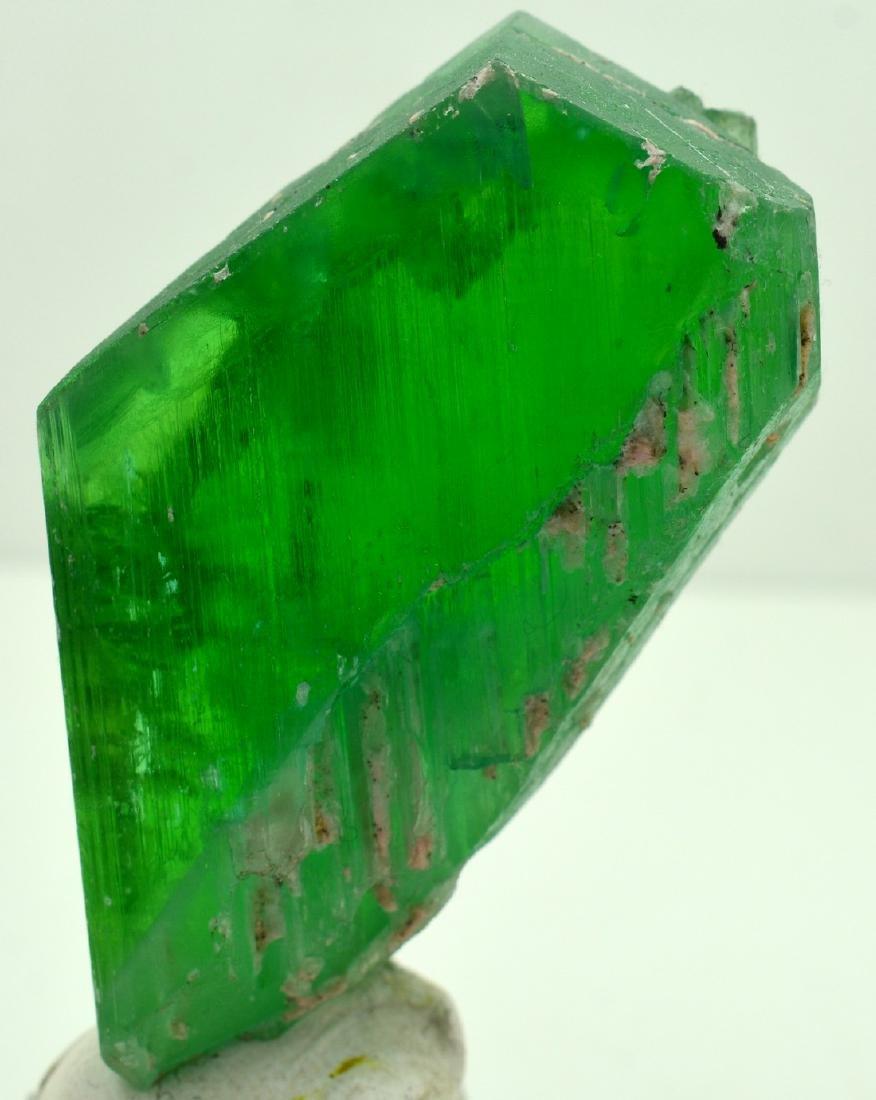 Terminated Green Kunzite Crystal