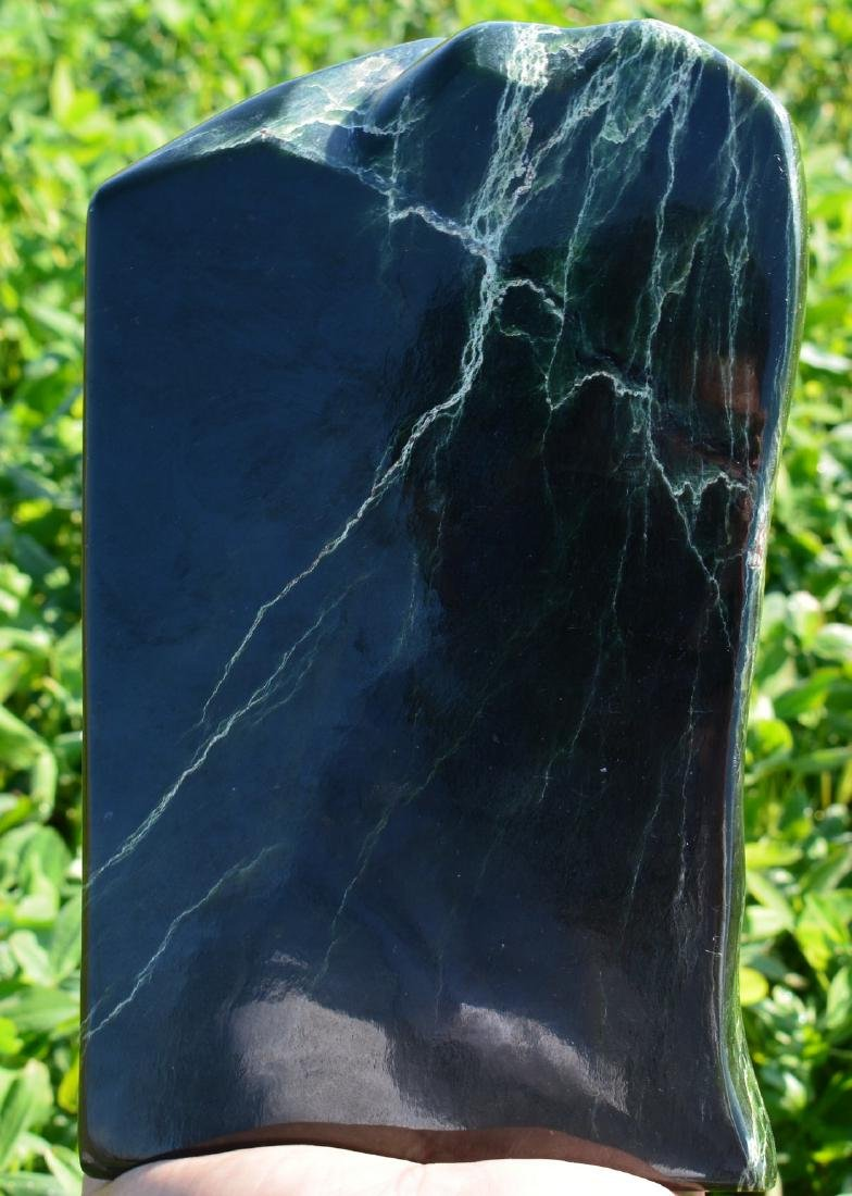 Natural Green Nephrite Tumble