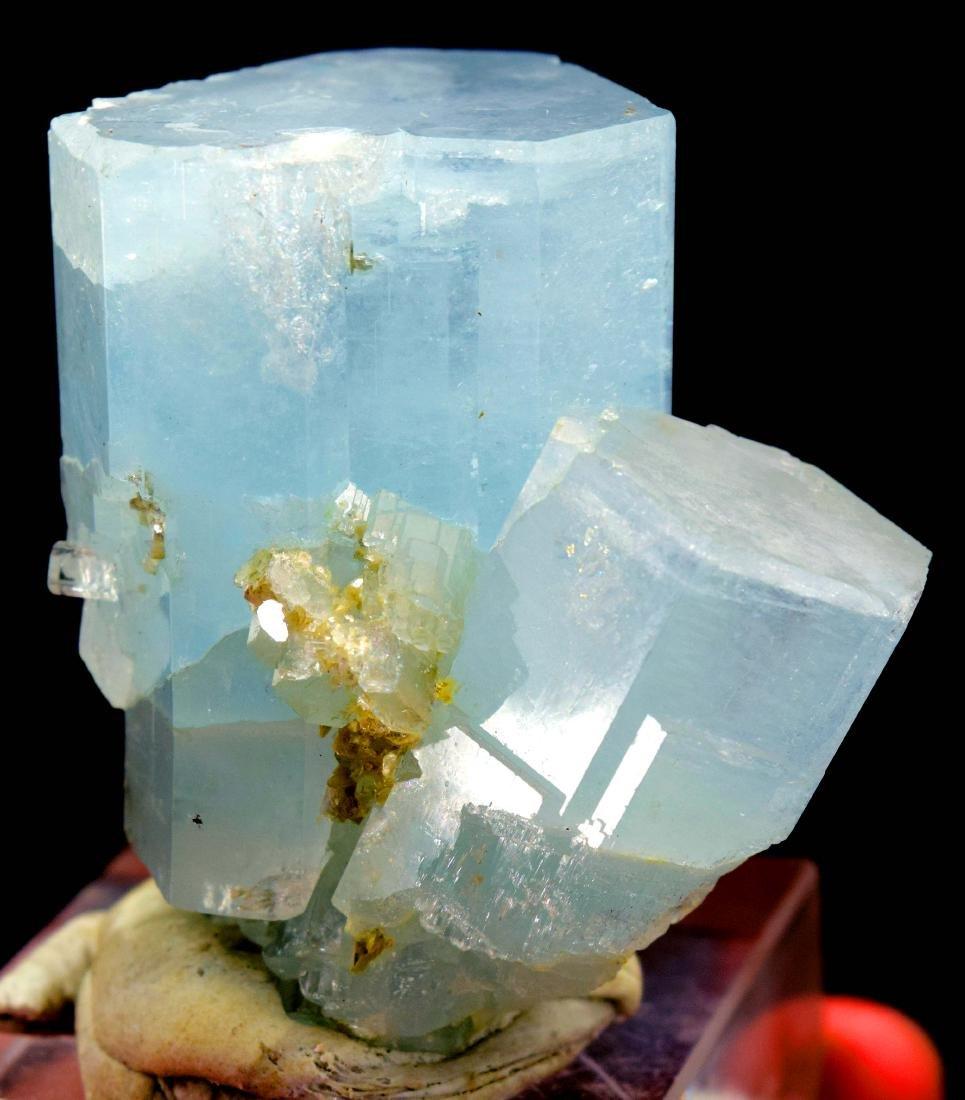 131 gram terminated and undamaged aquamarine crystal